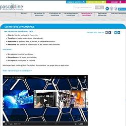 Les métiers du numérique - Association Pascaline