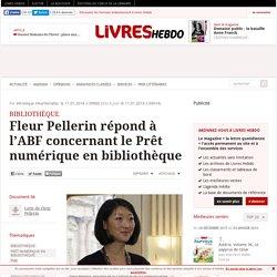 Fleur Pellerin répond à l'ABF concernant le Prêt numérique en bibliothèque