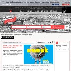 NUMOK - Festival numérique des bibliothèques de Paris