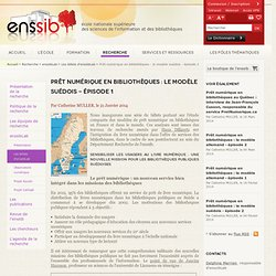 Prêt numérique en bibliothèques : le modèle suédois - épisode 1