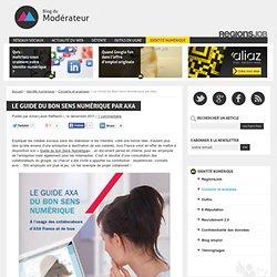 Le Guide du Bon Sens Numérique par Axa