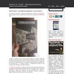 Parution de «Cultures du numérique» (Ed. du Seuil