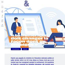 Usbek & Rica - « Le numérique doit changer la façon dont on enseigne »