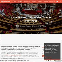 Loi numérique : ce qu'elle changera pour vous - Politique