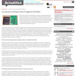 Le manuel numérique entre mirages et chimères