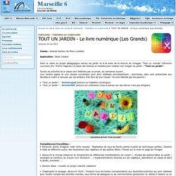 TOUT UN JARDIN - Le livre numérique (Les Grands) - Circonscription de Marseille 06