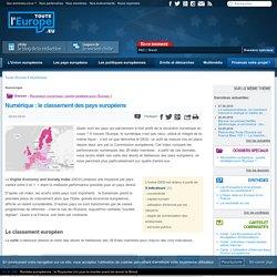 Numérique : le classement des pays européens