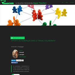 Apports du numérique dans le travail collaboratif - Padagogie