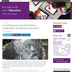 Le numérique pour faciliter l'écriture collaborative autour d'un texte : exemple avec Jules Verne