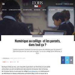 Numérique au collège: et les parents, dans tout ça?