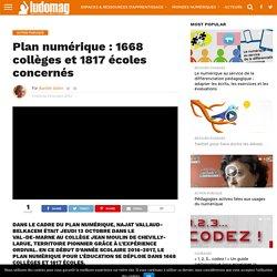 Plan numérique : 1668 collèges et 1817 écoles concernés – Ludovia Magazine