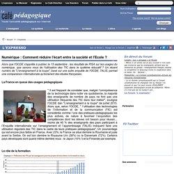 Numérique : Comment réduire l'écart entre la société et l'Ecole ?