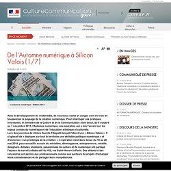 De l'Automne numérique à Silicon Valois