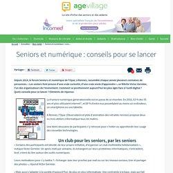 Seniors et numérique : conseils pour se lancer - 30/01/17