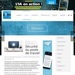 Sécurité du poste de travail L'1FO : Fil d'actus transfo numérique, RGPD, IA, SSI, RV, cybersociété...
