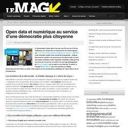 Open data et numérique au service d'une démocratie plus citoyenne