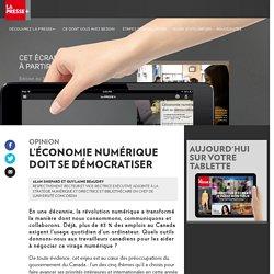 L'économie numérique doit se démocratiser
