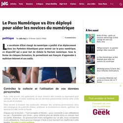 Le Pass Numérique
