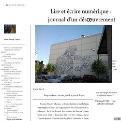 Lire et écrire numérique : journal d'un désœuvrement