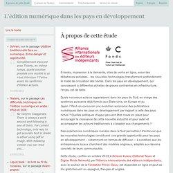 L'édition numérique dans les pays en développement