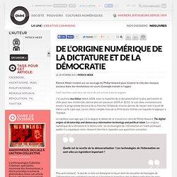 De l'origine numérique de la dictature et de la démocratie » Article » OWNI, Digital Journalism