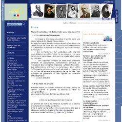 Manuel numérique et dictionnaire pour mieux écrire