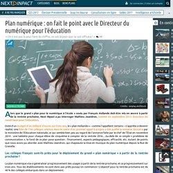 Plan numérique : on fait le point avec le Directeur du numérique pour l'éducation