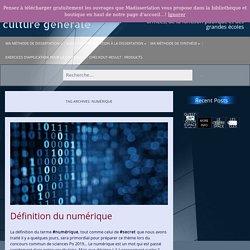 numérique Archives – Ma dissertation de culture générale