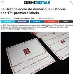 La Grande école du numérique distribue ses 171 premiers labels