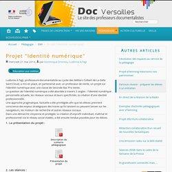 """Projet """"Identité numérique"""" - Documentation"""