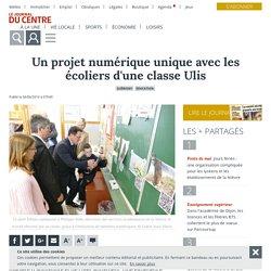 Un projet numérique unique avec les écoliers d'une classe Ulis - Guérigny (58130) - Le Journal du Centre