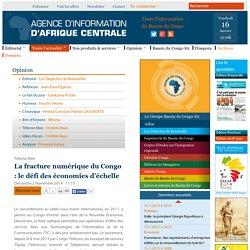 La fracture numérique du Congo : le défi des économies d'échelle