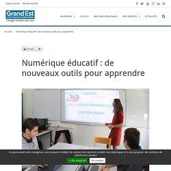 Numérique éducatif : de nouveaux outils pour apprendre