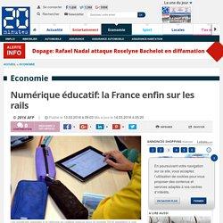 Numérique éducatif: la France enfin sur les rails