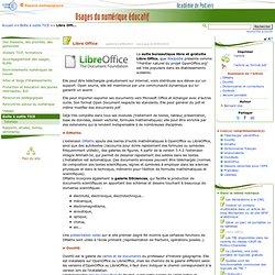 Libre Office- MATICE