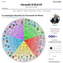Le numérique éducatif et la Taxonomie de Bloom – Ghenadie Râbacov