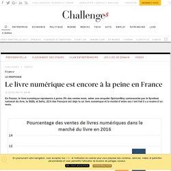 Challenges 23 mars 2017 Le livre numérique est encore à la peine en France