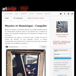 Musées et Numérique : l'enquête - Art Design Tendance