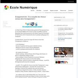 Enseignement.be : À la conquête des réseaux sociaux dans l'enseignement !