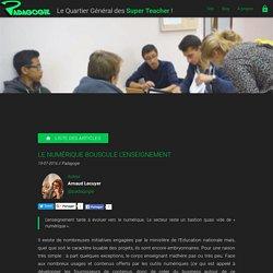 Le numérique bouscule l'enseignement - Padagogie