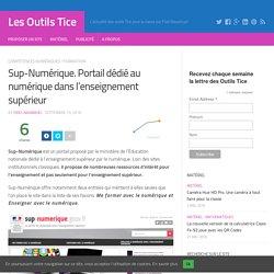 Sup-Numérique. Portail dédié au numérique dans l'enseignement supérieur – Les Outils Tice