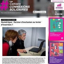 Le numérique : facteur d'exclusion ou levier d'insertion