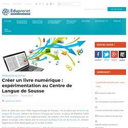 Créer un livre numérique : expérimentation au Centre de Langue de Sousse