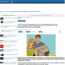 Le Chèque Numérique pour les Français qui ne comprennent rien à Internet
