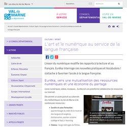 L'art et le numérique au service de la langue française