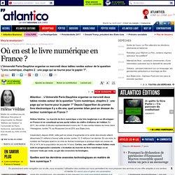 Où en est le livre numérique en France