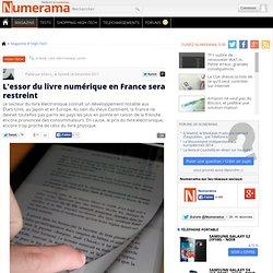 L'essor du livre numérique en France sera restreint