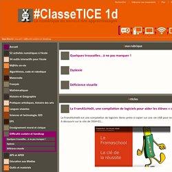 Classe TICE - TICE et Handicap