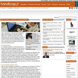 École numérique : un plus pour les élèves handicapés ? - Education (7577)