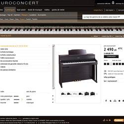 piano numérique roland hp 605 à l'harmonie hyper réaliste